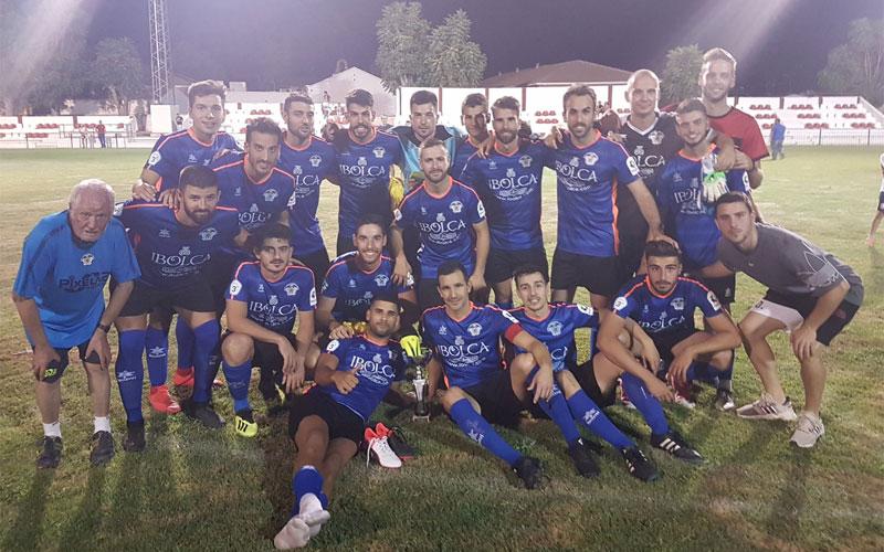 Jugadores del Atlético Porcuna