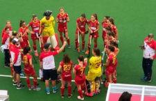 Mª Ángeles Ruiz se luce en el empate de España ante Holanda