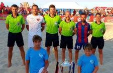 Montoro Garrido arbitró la final de la Supercopa de España de fútbol playa