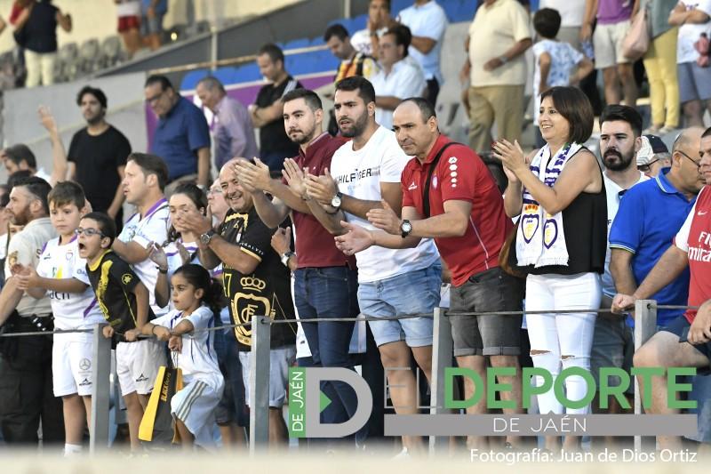 La afición en La Victoria (Real Jáen – Almería B)