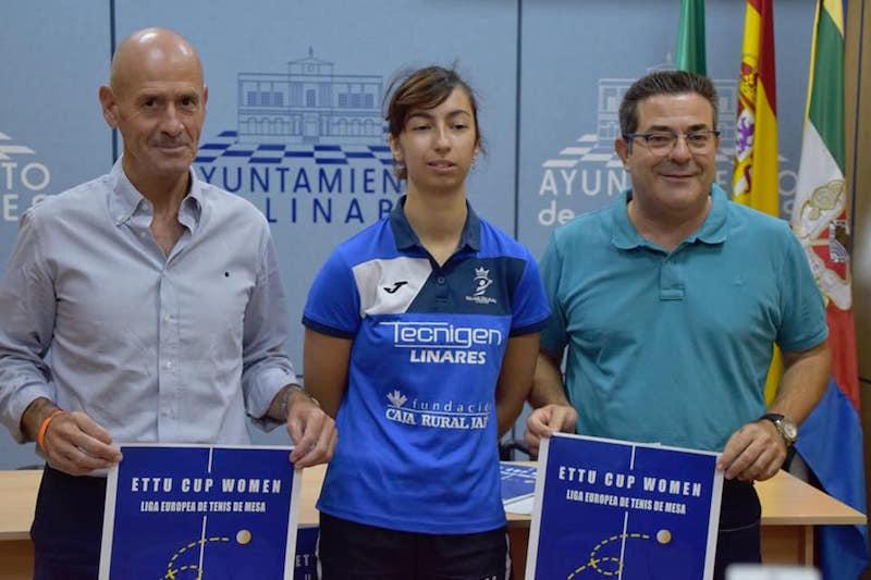 Presentación de los partidos de Liga Europea que se disputarán en Linares