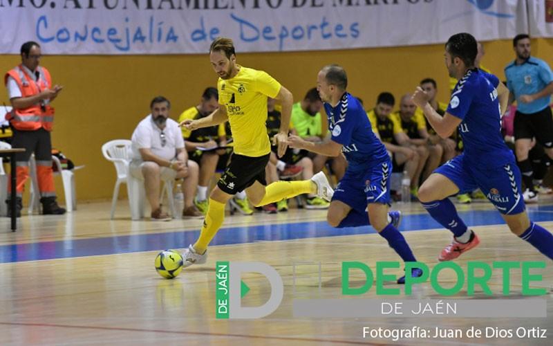Alan Brandi en un partido con el Jaén FS