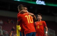 Antonio Pérez, protagonista con España en el pase a 'semis' del Europeo Sub-19