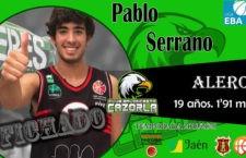 El CB Cazorla anuncia el fichaje de Pablo Serrano