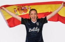 Nuevo éxito de la joven futbolista jiennense. Foto: NWSL.