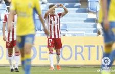 El jugador jiennense vio portería. Foto: La Liga.