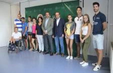 El Rector de la UJA se reúne con los deportistas de alto nivel que estudian en el centro universitario