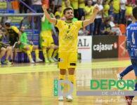 El Jaén FS completa un partido excelente para sumar su primer triunfo