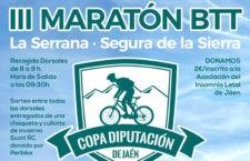 'La Serrana' marcará el ecuador de la Copa Diputación Jaén BTT Maratón 2019