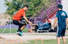 Moyano, recuperado de sus molestias físicas. Foto: R. Valladolid.