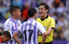 Munuera Montero dirigirá el choque entre pucelanos y pamplonicas. Foto: La Liga.