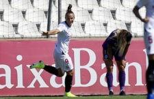 Raquel Pinel anotó el cuarto gol sevillista. Foto: La Liga.