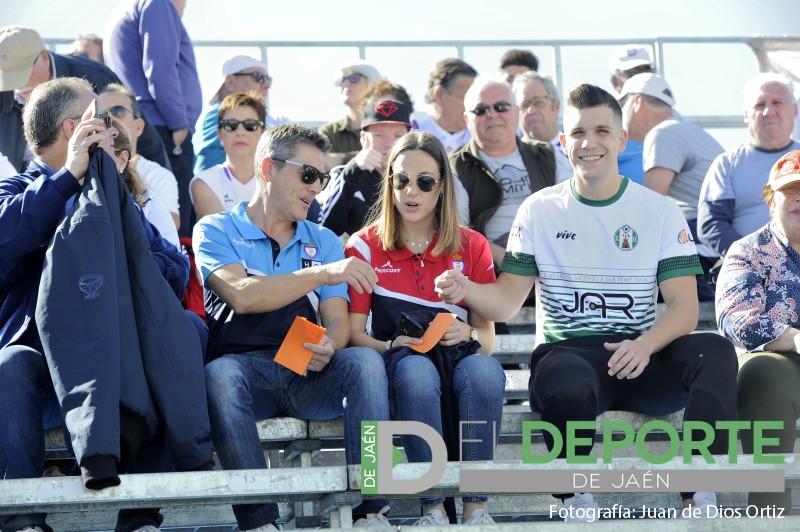 Aficionados en La Juventud en el partido entre Mancha Real y Real Jaén