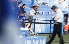 Anquela, en la cuerda floja. Foto: La Liga.