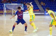 El Barça supera al Jaén, que le faltó pólvora en el Palau