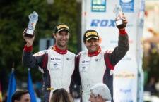 Alberto Chamorro, copiloto de Linares, Campeón de España de Rally de asfalto