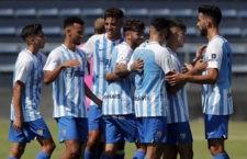 El Malagueño visita La Victoria. Foto: Málaga CF.