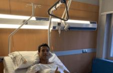 Joan Grasa es intervenido de su rotura en el menisco