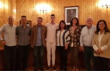 El karateca Antonio Sánchez recibe el respaldo del Ayuntamiento de Mancha Real