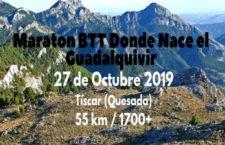 La Maratón BTT Donde nace el Guadalquivir, última prueba puntuable de la Copa Diputación