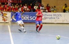 Los de Javi Garrido no pasaron del empate. Foto: Mengíbar FS.