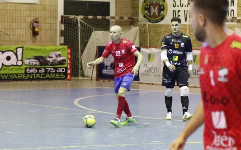 José López, jugador del Mengíbar FS
