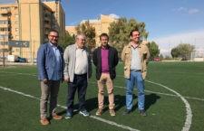 Mejoras en el campo de fútbol del Polígono del Valle para que recupere la homologación oficial
