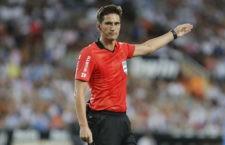 Champions League y Liga Santander para el colegiado jiennese. Foto: La Liga.