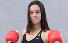 Patricia Herrera participa en el Mundial de Kick Boxing. Foto: UJA.
