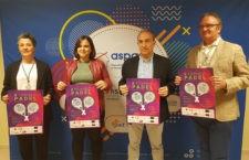 Padel y solidaridad. Foto: Aspace Jaén.