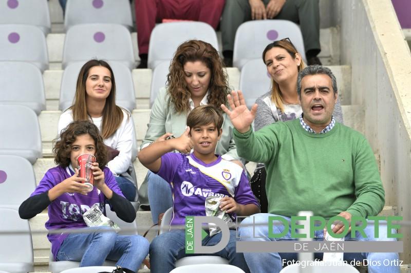 Aficionados del Real Jaén en La Victoria