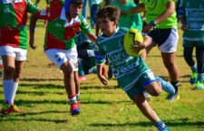 La cantera del rugby andaluz se da cita en Jaén. Foto: Jaén Rugby.