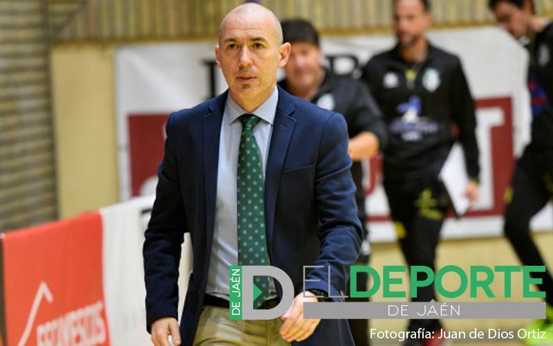 Dani Rodríguez, técnico del Jaén Paraíso Interior