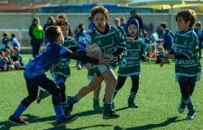 Éxito de la concentración de rugby para los más pequeños. Foto: Nerina Iantorno.