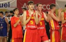 El jugador del CB Andújar repite con el equipo nacional. Foto: FAB Jaén.