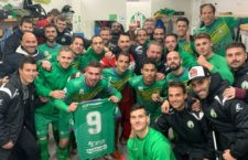 Los tres puntos se quedaron en La Juventud. Foto: Atco. Mancha Real.