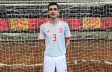 El jiennense Pablo Ordóñez, convocado con España de fútbol sala sub-17