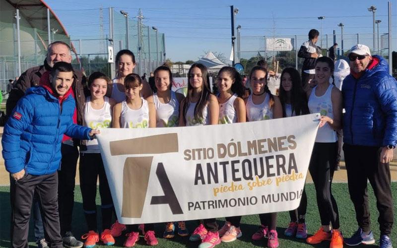 Los menores del pádel jiennense dan la talla en el Campeonato de Andalucía