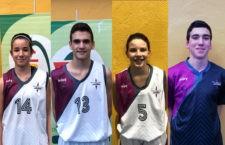 Cuatro jiennenses en las preselecciones andaluzas de baloncesto