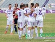 El Real Jaén se divierte y arrasa al Alhaurín