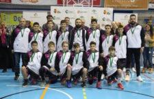 La selección jiennense finaliza quinta en el Minibasket masculino A8