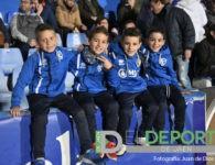 La afición en Linarejos (Linares Deportivo – Girona FC)
