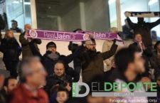 La afición en La Victoria (Real Jaén – Alavés)