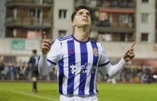 Aguado se reivindica firmando un doblete en Copa del Rey con el Valladolid