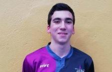 El joven jiennense, convocado con el equipo autonómico. Foto: FAB Jaén.