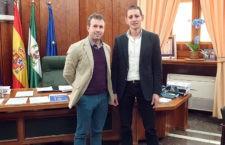 Encuentro del Ayuntamiento de Jaén con la Federación Española de Bádminton