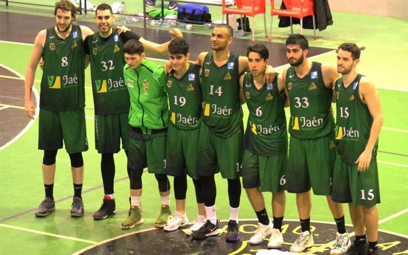 Jugadores del CB Cazorla