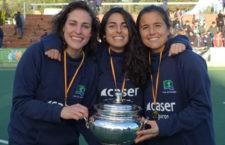 Nuevo título para las jugadoras de Alcalá la Real. Foto: FAH.