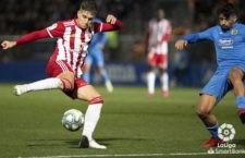 Empate para el Almería de Corpas. Foto: La Liga.
