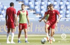 El Almería de Corpas cayó derrotado. Foto: La Liga.
